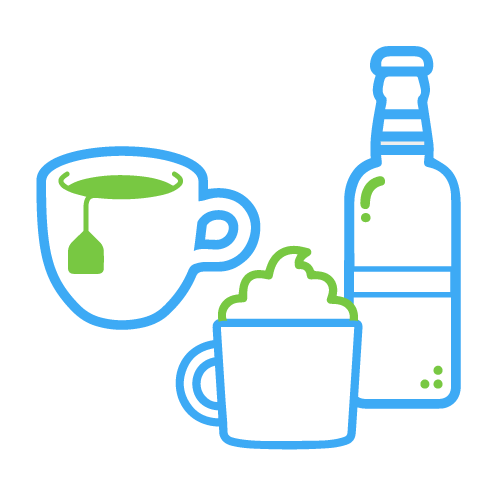 Drinks, Teas, and Cocoa